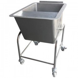 Carro de lavagem de cereais